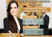 Trabajo para hispanos en los eeuu// las vegas