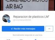 Reparación de artículos plásticos