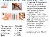 Traamientos de roll-on en depilacion