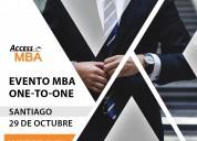 Los mejores programas de mba llegan en santiago
