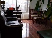 Hermoso departamento 2 dormitorios, stgo centro
