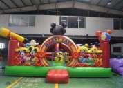 Juegos inflables camas elasticas toro mecanico