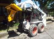 Martillo hidraulico minicargador.