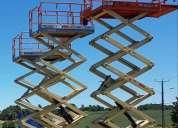 Arriendo plataformas elevadoras tijera y articulada osorno