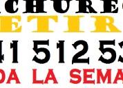 Cacchibaches   cachureos retiro santiago 941512536
