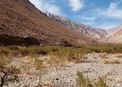 Venta de parcelas en el mágico valle de cochiguaz.