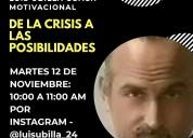 De la crisis a las posibilidades - 12 de noviembre