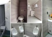 Baños móviles de lujo spa