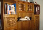 Vendo bibliotecaria $180.000.- enchape eucaliptus
