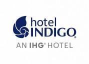 Índigo hotel en canadá y estados unidos necesita t