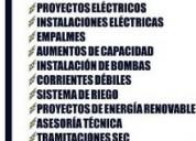 Ingeniero ejecuciÓn elÉctrica ofrece sus servicios