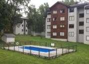 Lindo departamento amoblado parque suizo pucon 1 dormitorios