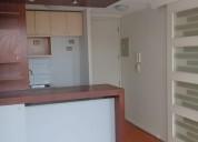 Amplio departamento 1 dormitorio, santiago centro