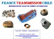 France traansmission  automáticas y mecánicas