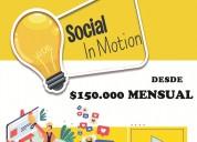 Social in motion diseÑo web