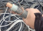 Compro fierro,lata,cables de cobre forrado o limp