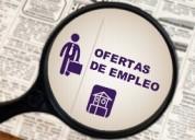 Busco extranjera trabajo permanente y estable