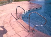 Pasamanos para piscinas