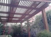 Cobertizos, terrazas -- stgo y v región