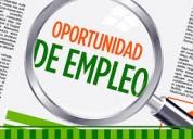 Oportunidad laboral para extranjera