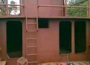 Barco de fierro en remodelacion