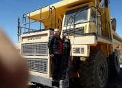 Camiones para faenas mineras