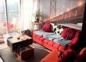 Arriendo departamento metro santa lucia 2 dormitorios 57 m2