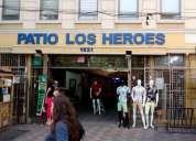 Arriendo locales comerciales santiago centro 17 dormitorios 1 m2