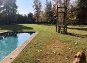 Hermosa parcela con piscina sector chicureo 3 dormitorios 5000 m2
