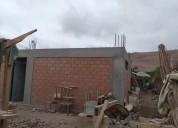 Venta parcela  con construcción de casa, azapa