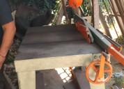Guillotina cuchillon corte de planchas de acero