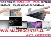 Mantención reparación upgrade macbook imac