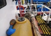 Lancha pesquera de madera 18 metros