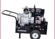 Motobombas 6x6 diesel