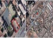 Terreno a solo metros de estacion metro tren padre hurtado 495 m2