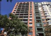 Departamento 1 dormitorio con bodega 39 m2 cercano a metro en santiago