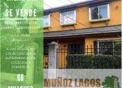 Se vende hermosa casa en villa dona igancia 1 talca 4 dormitorios 180 m2