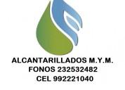 Alcantarillados emergencias maipu 992221040