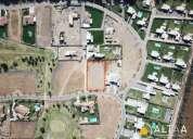 Terreno en club de golf los lirios 2421 m2