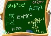 Profesor clases de matematica calculo fisica