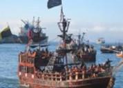 Barco pirata turistico