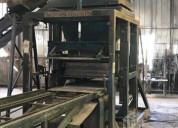 Máquina para fabricar bloques