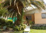 Vendo excelente casa con 1600 m2 sector chacayes