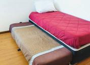 Arriendo depto amoblado 3 dormitorios sector sur