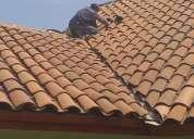 Reparamos su techo construimos canaletas