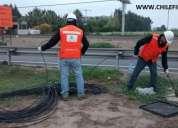 Pigtails de fibra optica y servicios de fusion