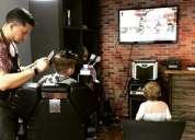 Se vende derecho de llaves barberia amoblada, contactarse
