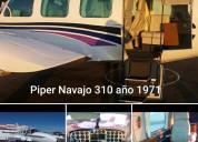 Avioneta piper navajo 310