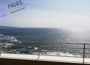 Departamento vista al mar, montemar, concÓn /vd513