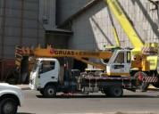 Grua para 8 toneladas en excelente estado